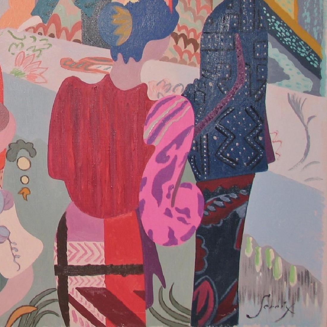 Antonio Sereix Matinee Original Painting on Canvas - 4