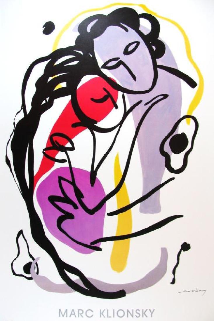 The Hug Print Colorful Modern Art Cheap!