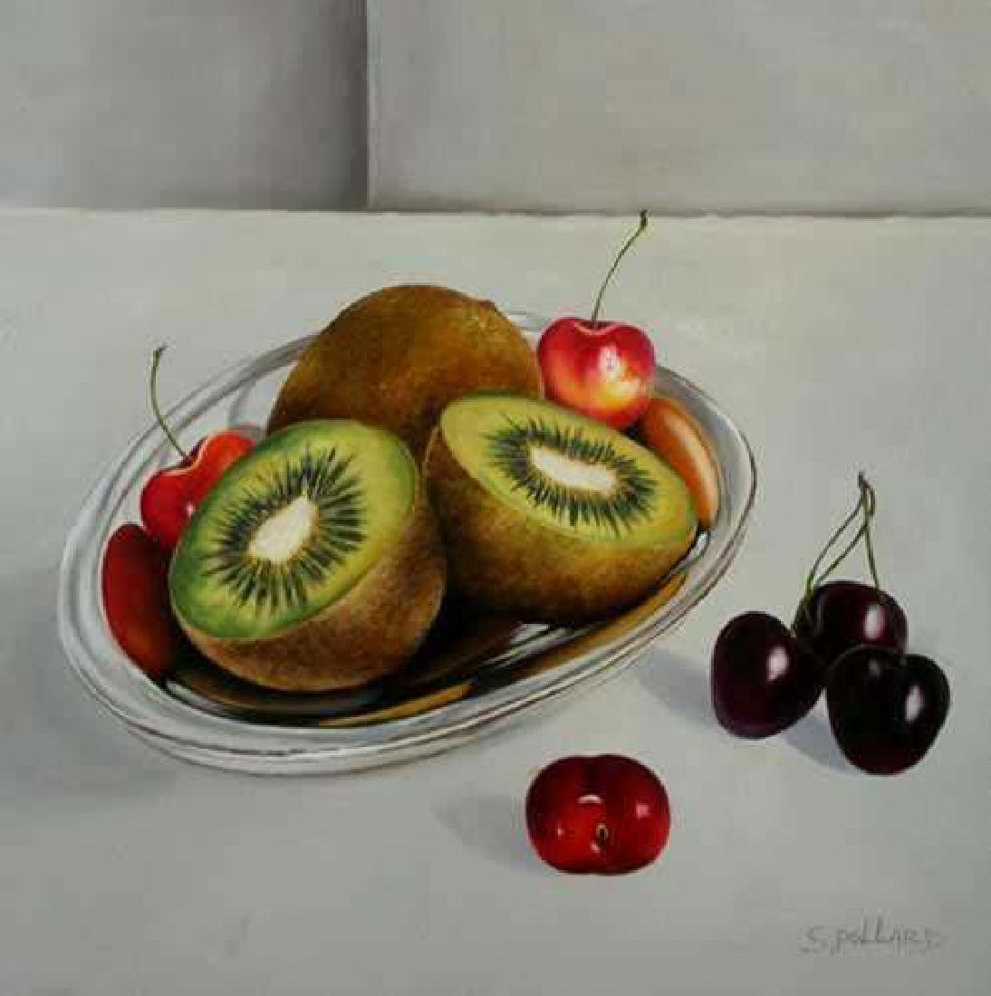 Realism Kiwi FRUIT Signed CANVAS DEALER LIQUIDATION - 2