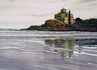 744: Shore Water Scene Ltd Ed Signed Huge Liquidation