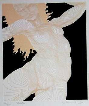 1427: Nude Azoulay Dancer Signed Ltd Ed Liquidation