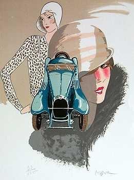 565E: Bugatti Art Deco Art Sale Only $25 Liquidation