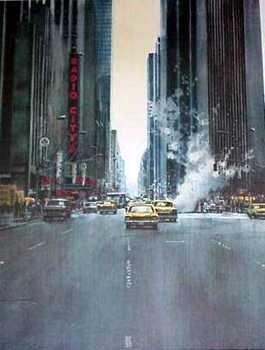 737D: Radio City Ltd Ed Artwork Signed Estate Liquidati