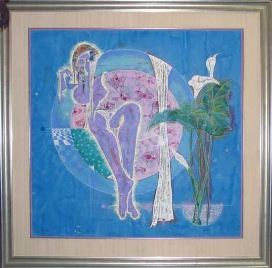 9007D: LuHong Yunnan Estate Sale Original Painting on P
