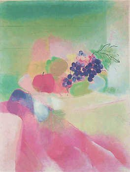 1957F: Par touché Artist Proof Still Life Watercolor St