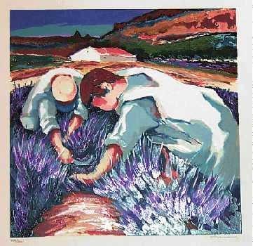 1971F: Fienberg Harvest Signed Rare Limited Edition Liq
