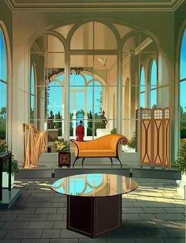 7227F: Art Deco Frederick Phillips Colorful Ltd Ed Seri