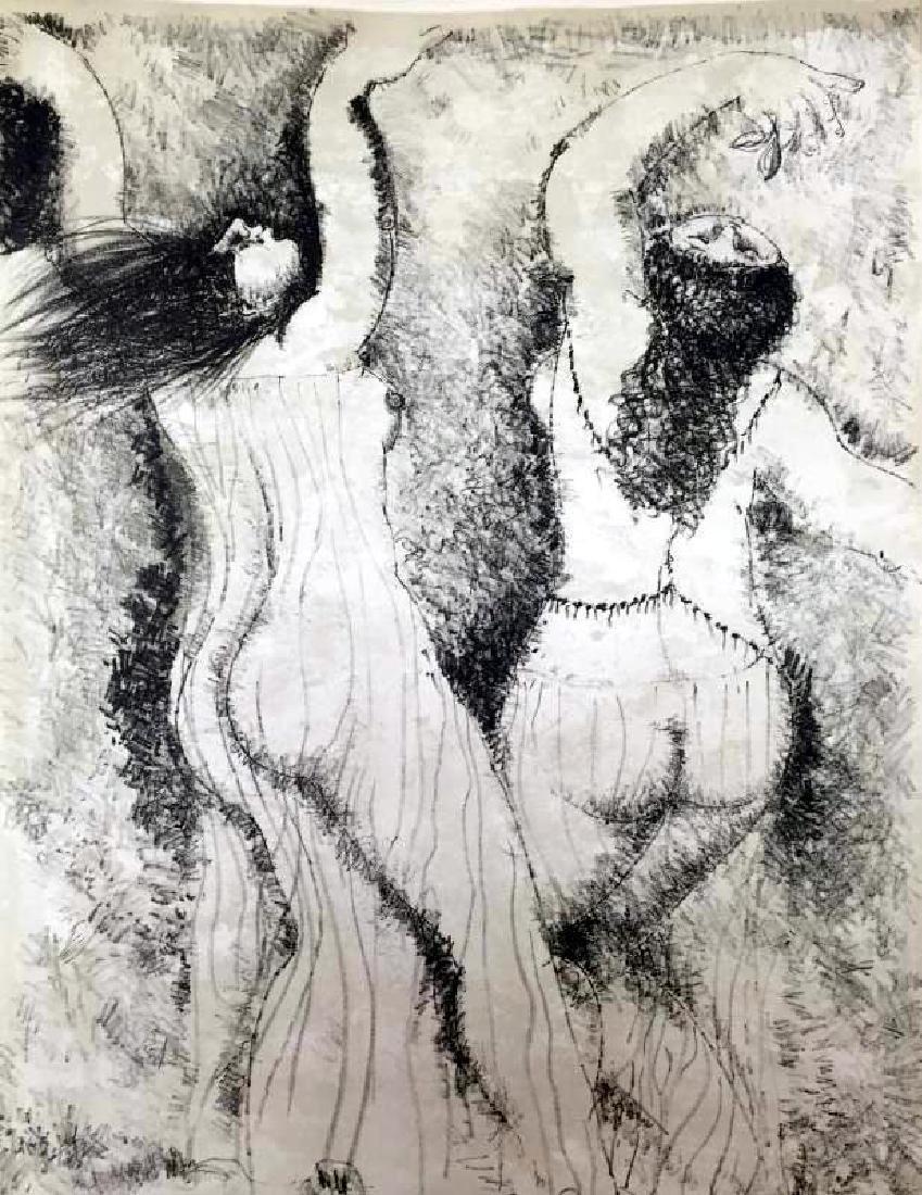 Federico Richi Plate Twenty-Four The Art of Love c.1970 - 2