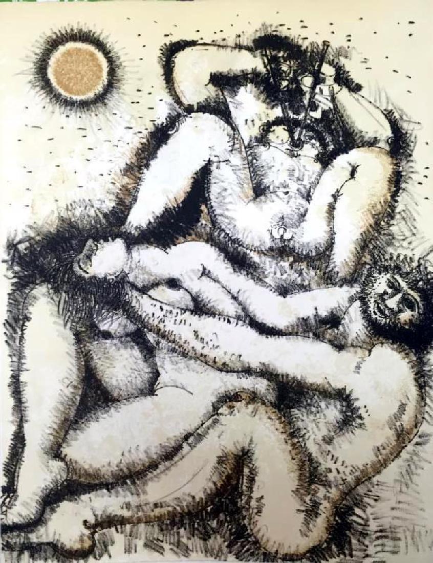 Federico Richi Plate Three The Art of Love c.1970 - 2