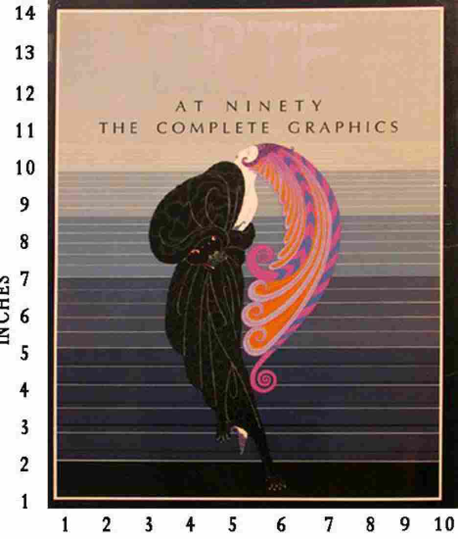 Museum Art Books Erte At 90 The Complete New Graphics