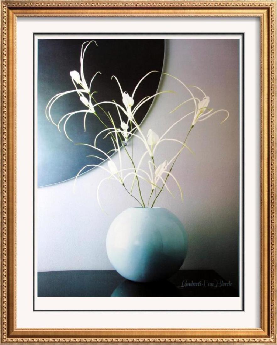 Lamberti-Van Blerck Floral In Vase Contemporary