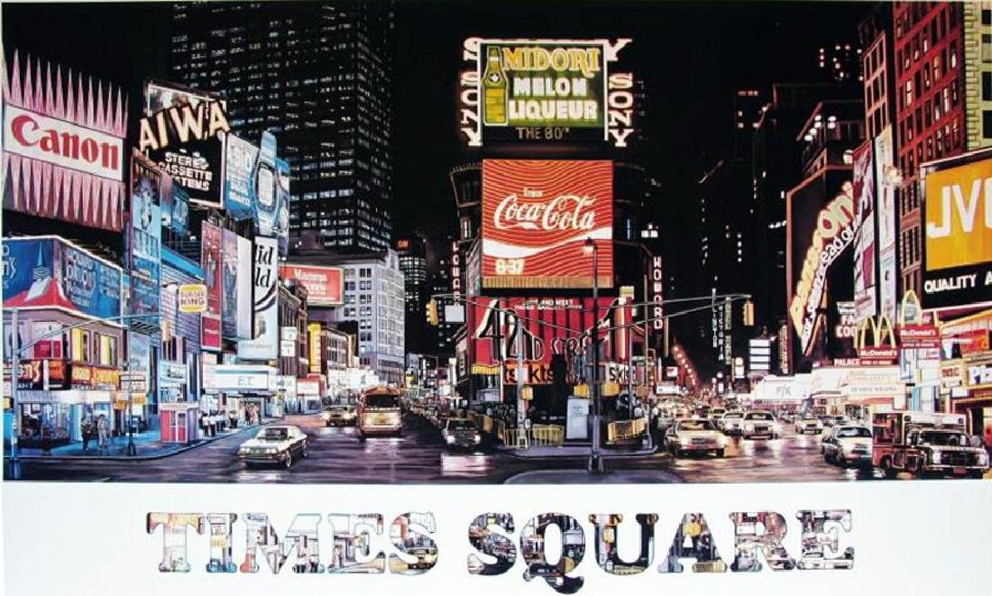 New York Times Square Large Realism Great Poster