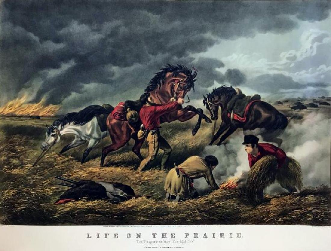 Roy King c.1987 Life On The Prairie The Trappers - 2