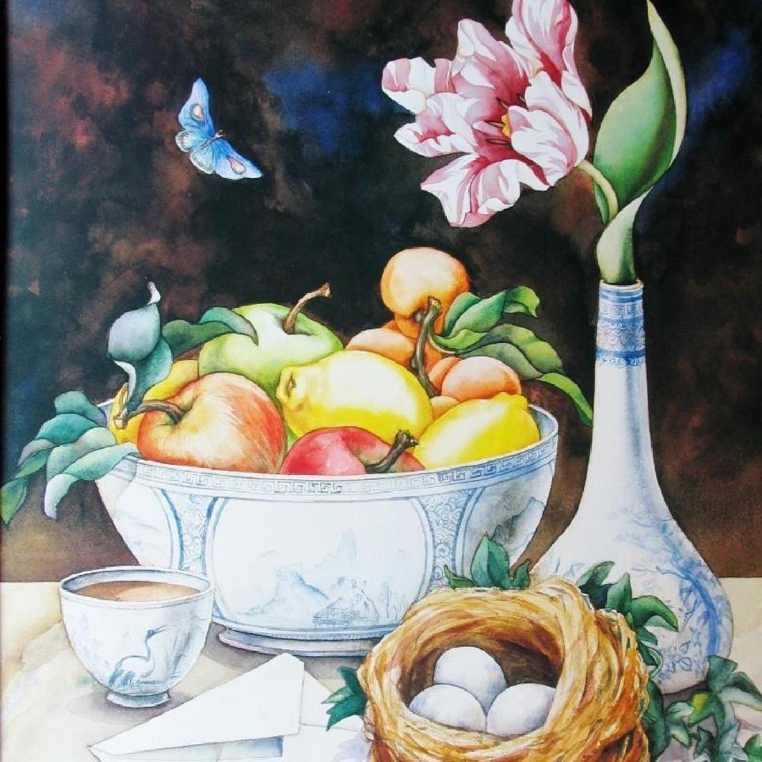 Yuriko Takata 1992 Four Seasons Colorful Print - 3