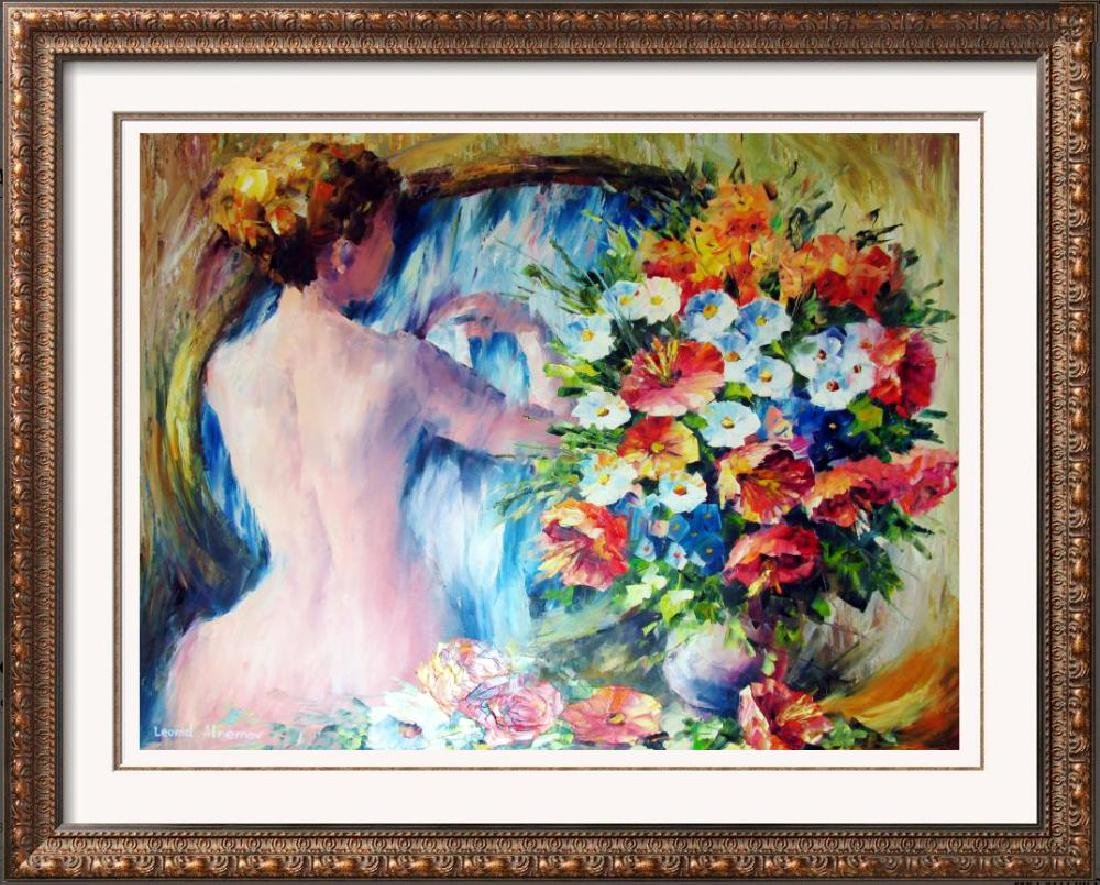 Beautiful Palette Knife Original Signed Painting on