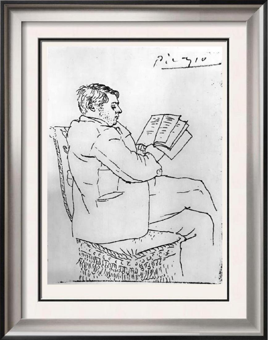 Pablo Picasso 'After'  Pierre Reverdy c. 1922 Fine Art