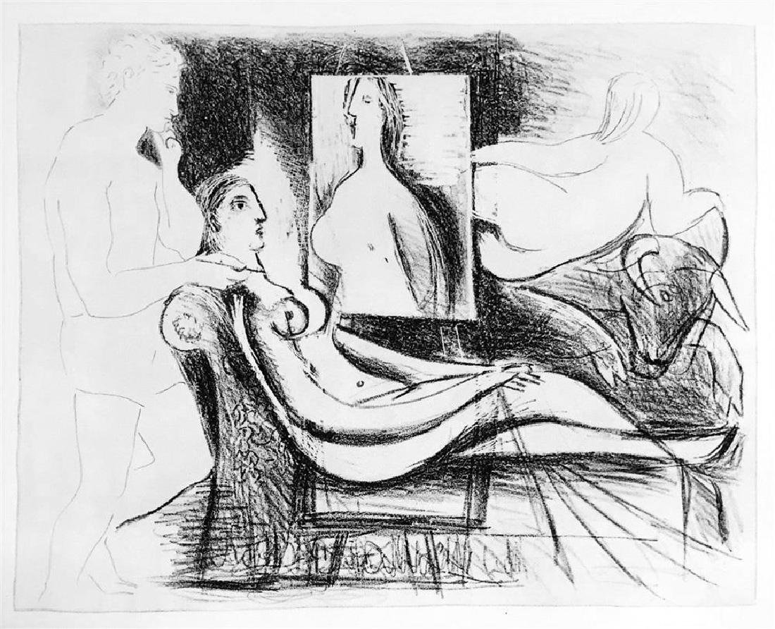 Pablo Picasso 'After'  The Artist and His Model c. 1930 - 2