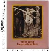 Art Book Liquidation Sale Ernst Fuchs Signed Art Book