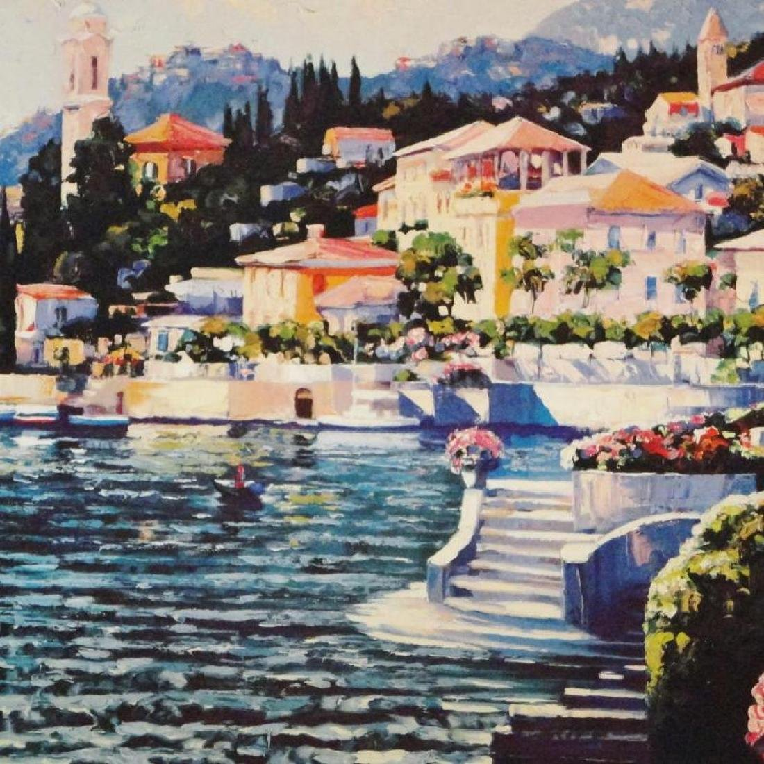 Howard Behrens Colorful Art Print Lake Como Sale - 3