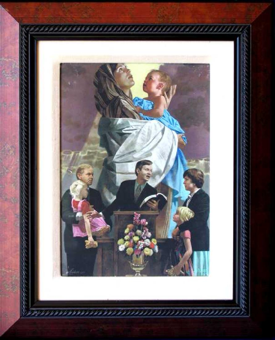 Church Family Gr8 Pastor Gift Giclee On Canvas