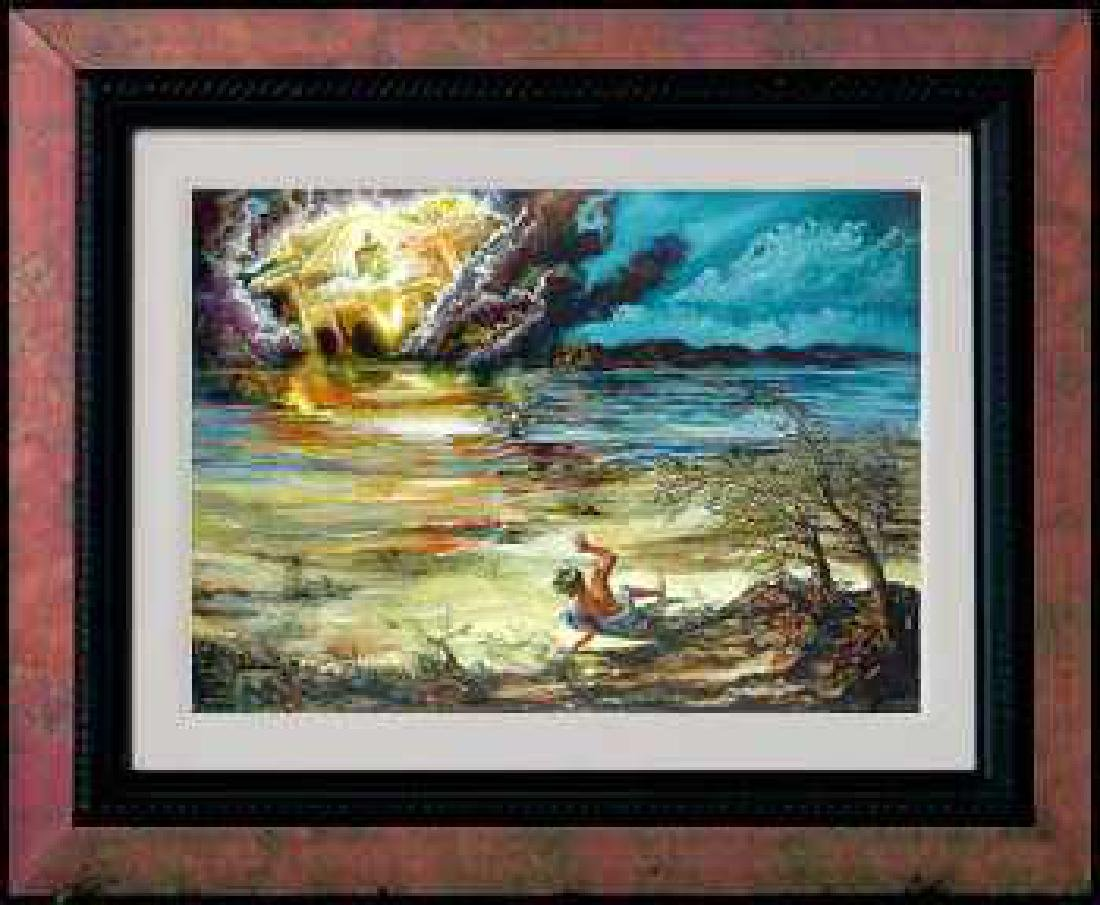Framed Surreal Limited Edition Colorful Artwork