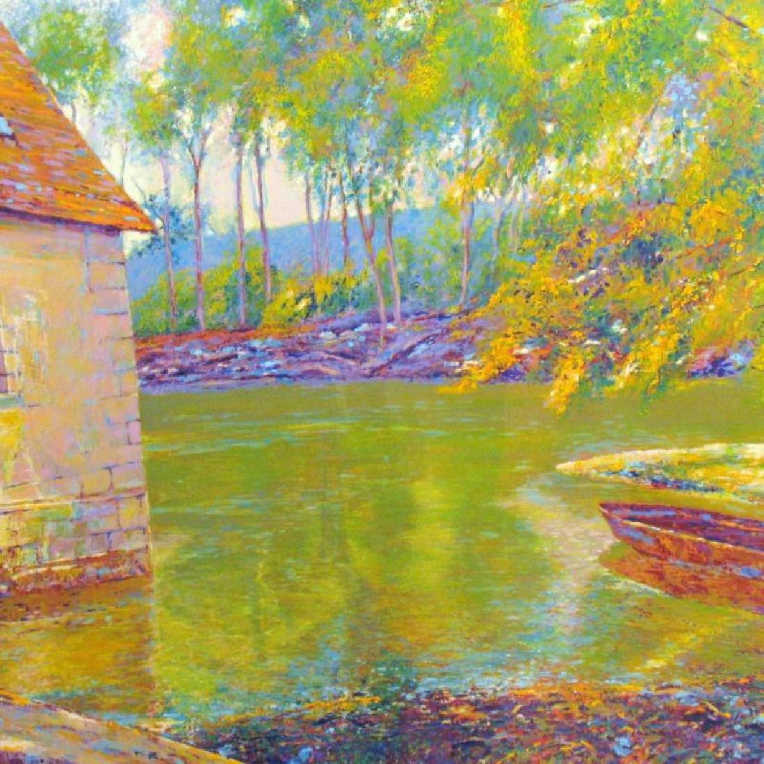 Impressionistic Sipos Water Scene Fantastic Value - 3