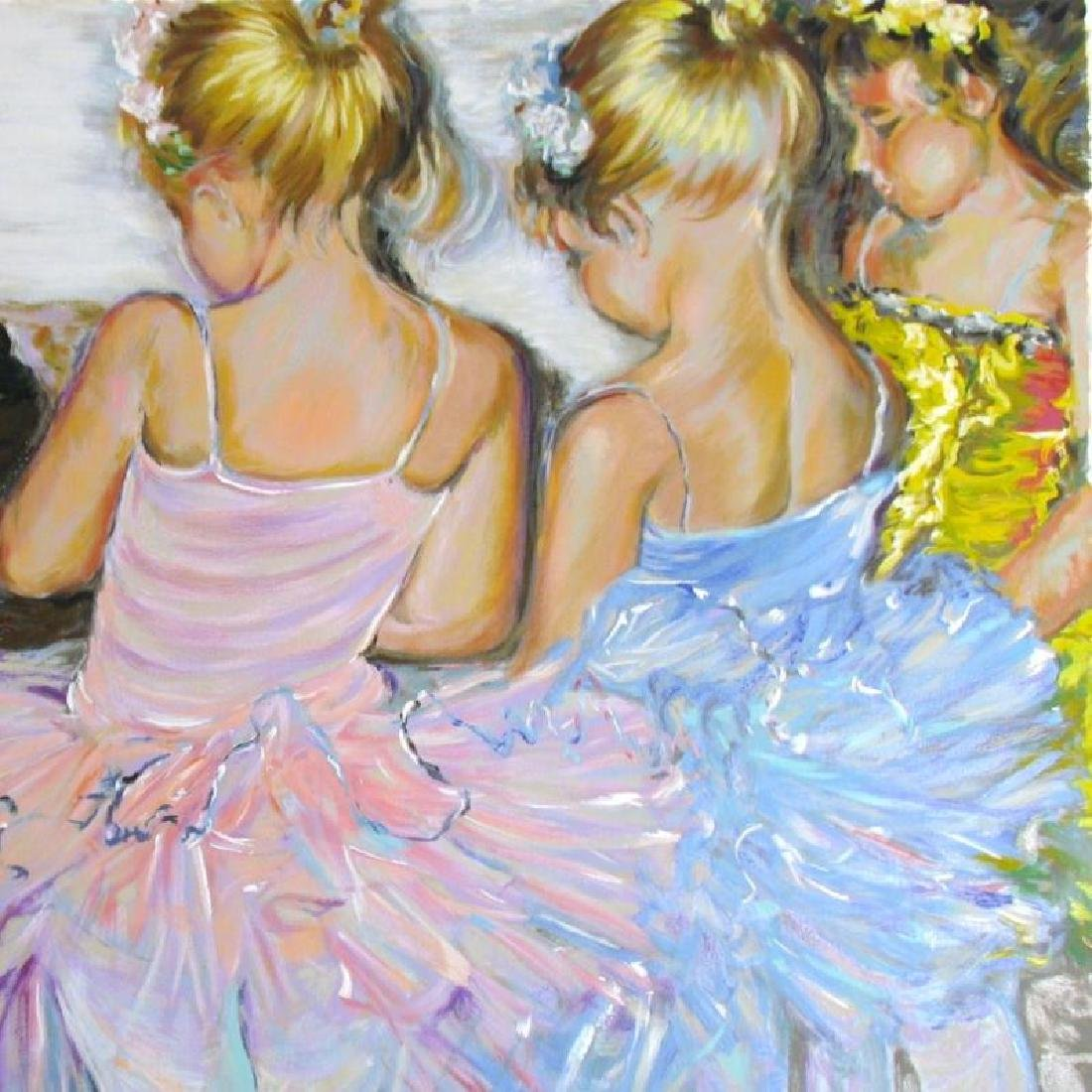 BALLERINA LIMITED EDITION SIGNED LITTLE GIRLS RARE - 3