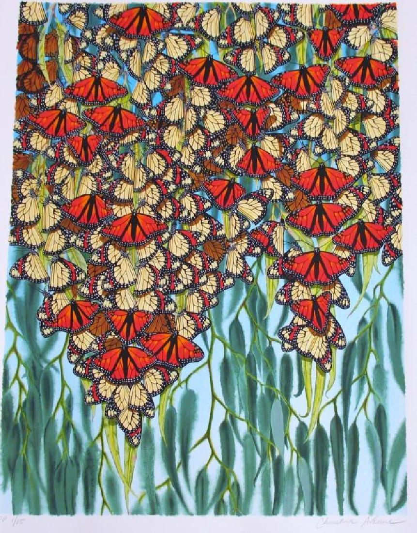 Colorful Butterfly Ltd Ed Art Estate Sale - 2