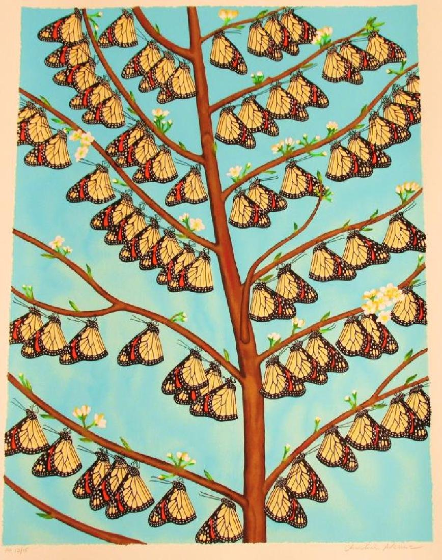 Butterfly Family Avenue Signed Limited Edition - 2