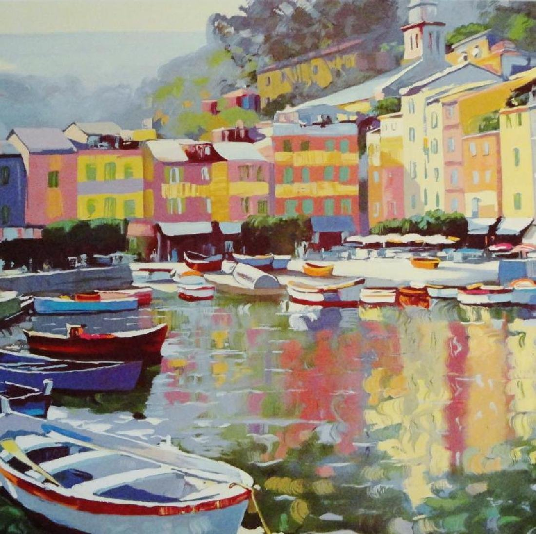 Howard Behrens Impressionism Colorful Offset Lithograph - 2