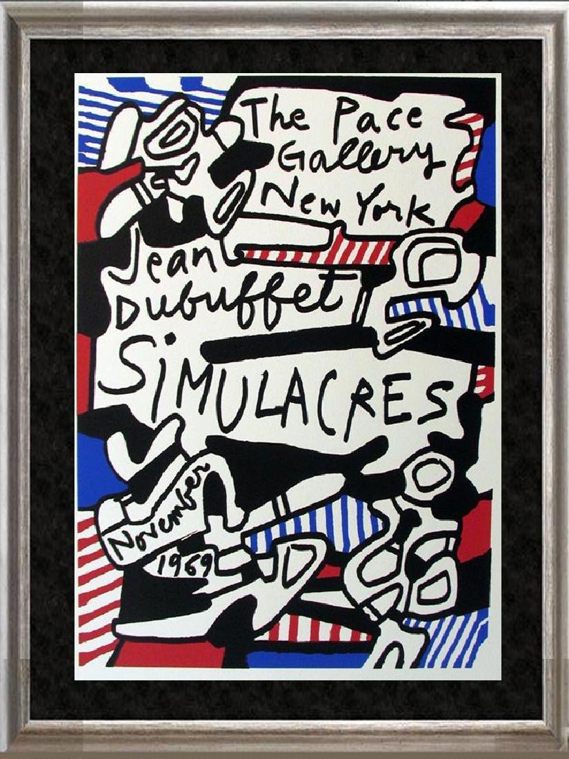 Dubuffet Lithograph Large Dealer Sale Rare