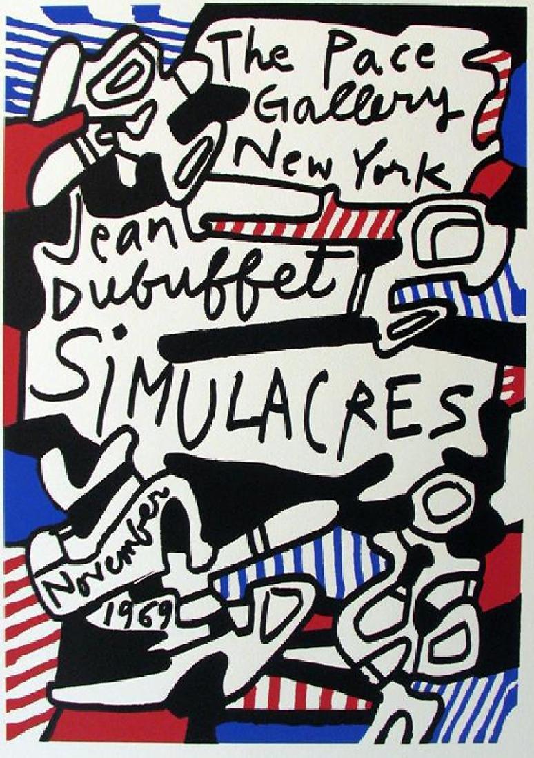 Dubuffet Lithograph Large Dealer Sale Rare - 2