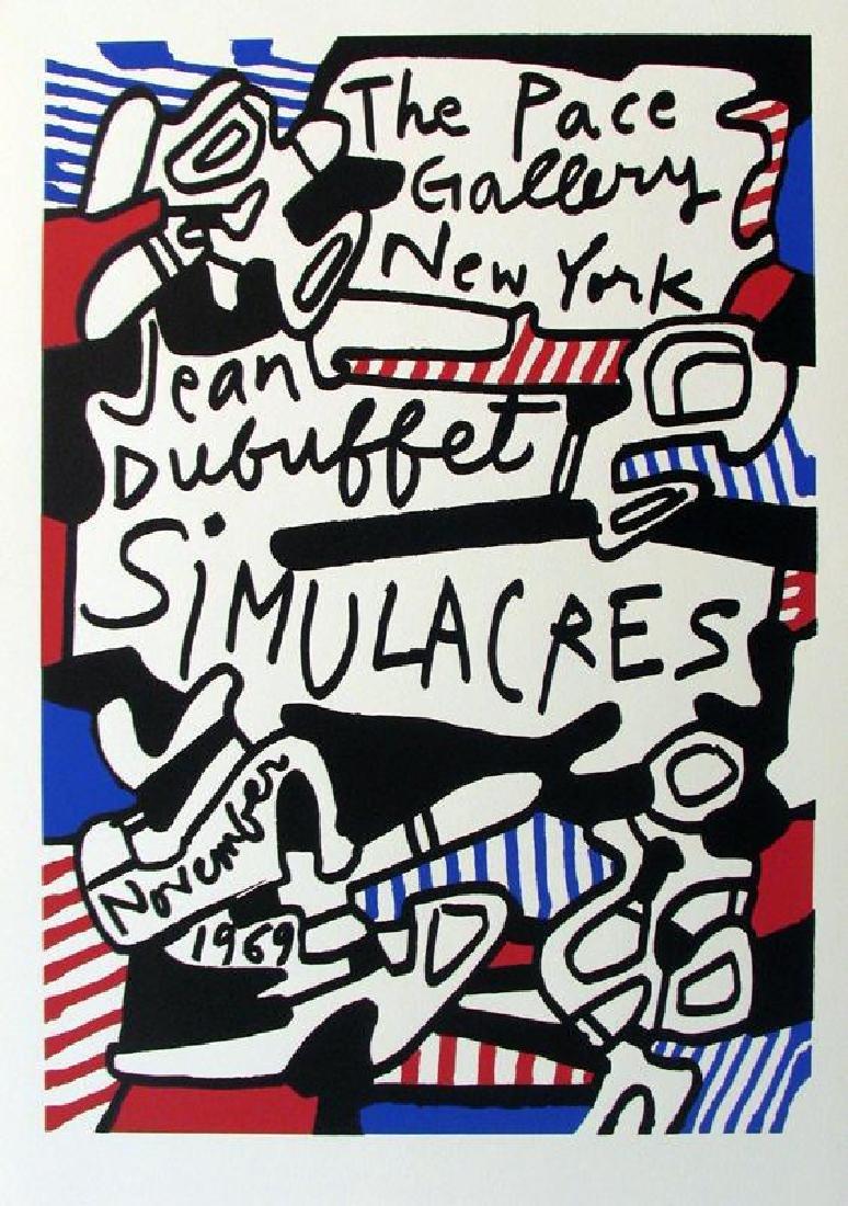 Dubuffet Lithograph Large Dealer Sale Rare - 3
