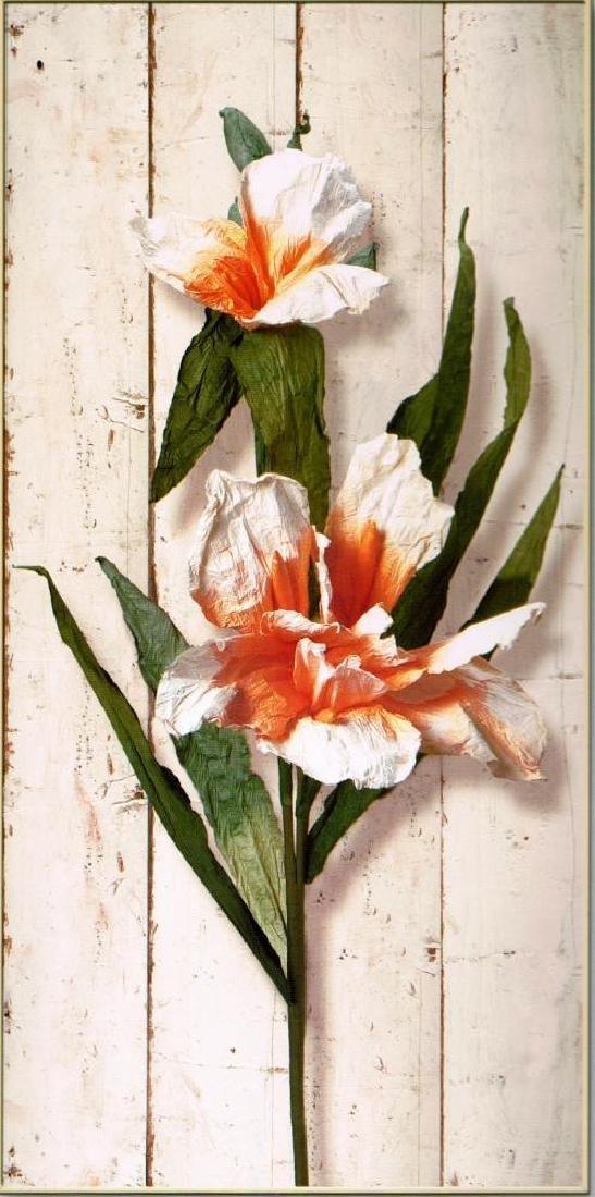 Panel Floral Huge 90X45 Giclee Canvas Dealer Sale - 2