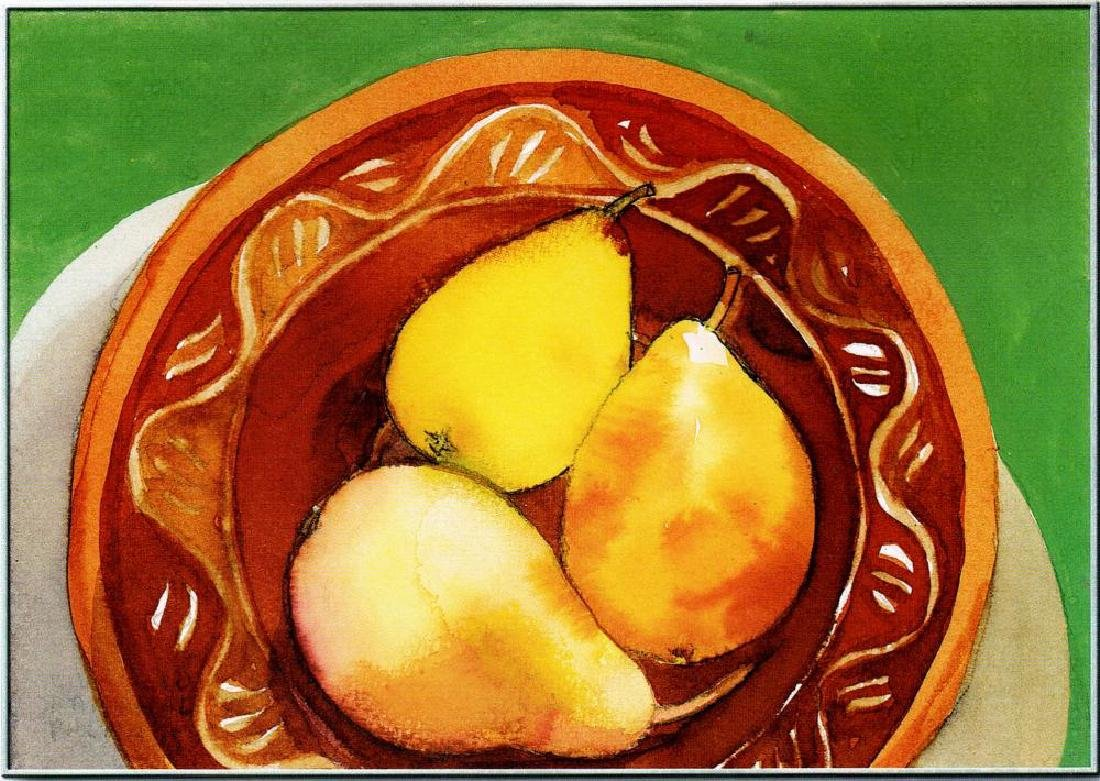 Neum Collection Fruit in Bowl Giclee on Canvas  40 x 50 - 2