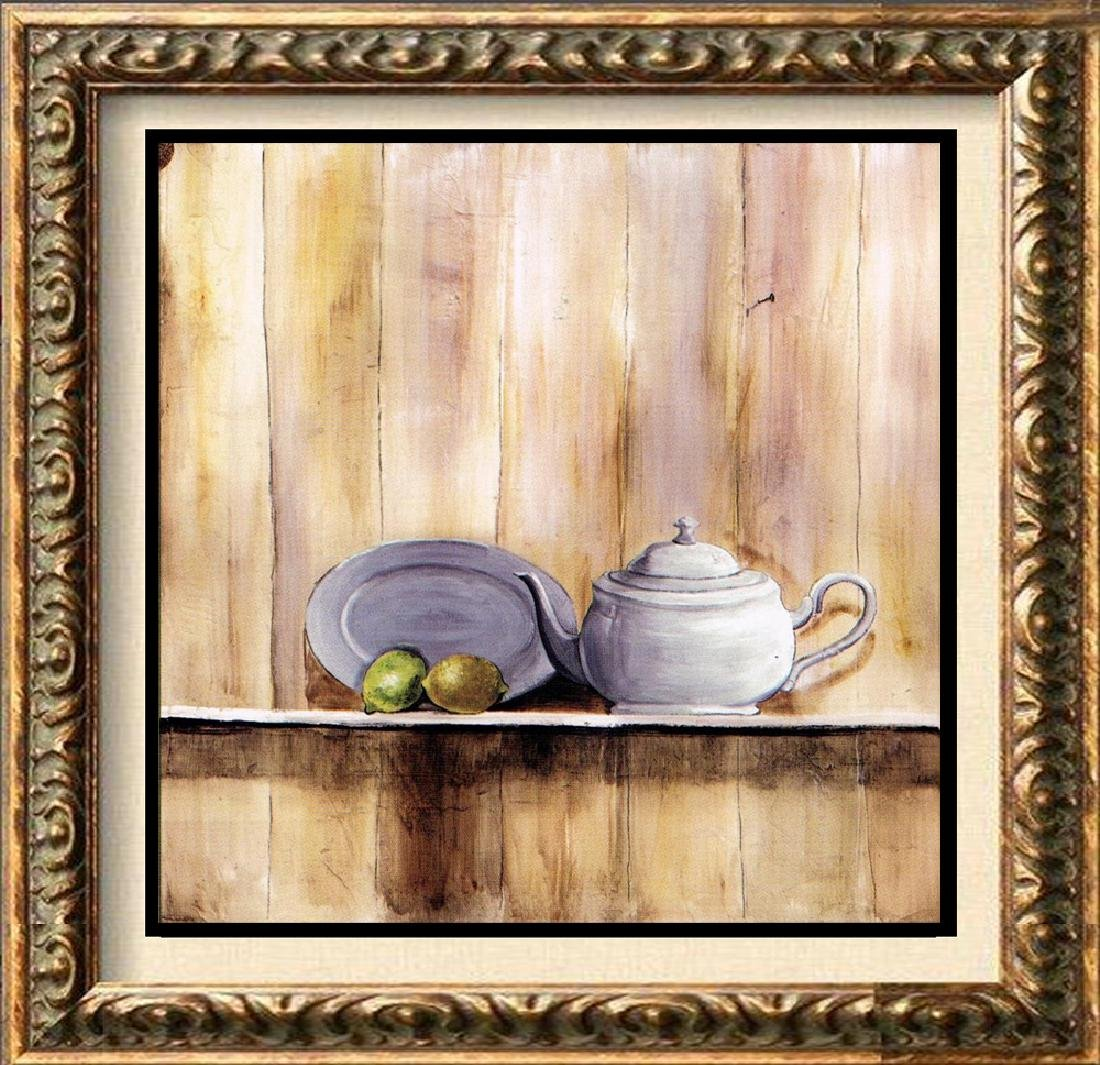 Neum Collection Tetera I Giclee on Canvas  39 x 39