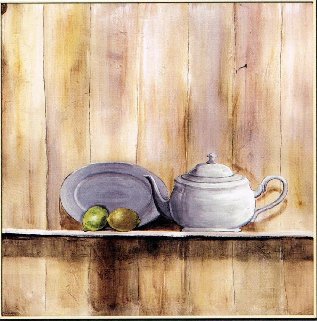 Neum Collection Tetera I Giclee on Canvas  39 x 39 - 2
