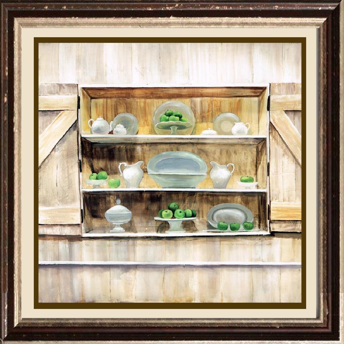 Neum Collection Tetera II Giclee on Canvas  39 x 39
