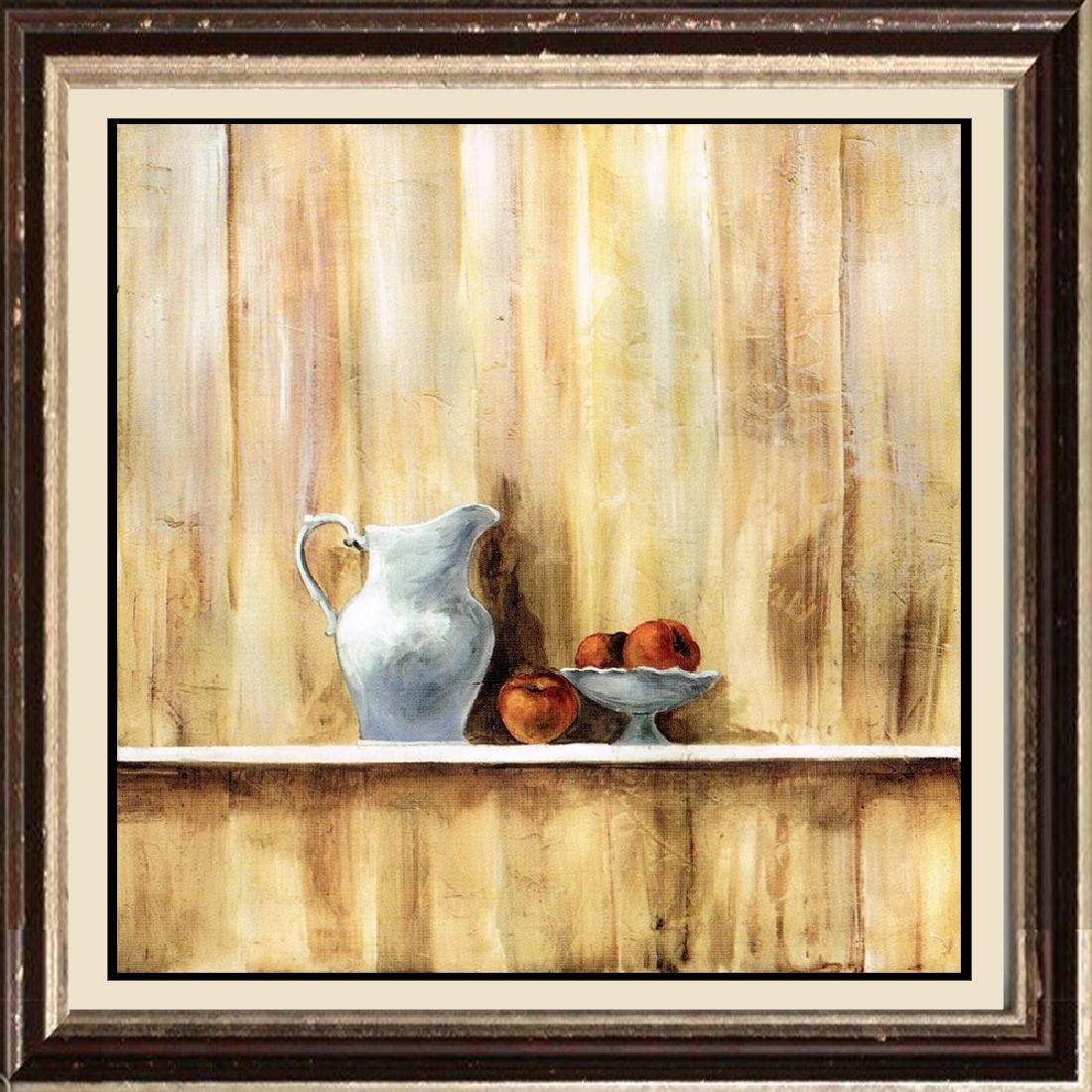 Neum Collection Tetera III Giclee on Canvas  39 x 39