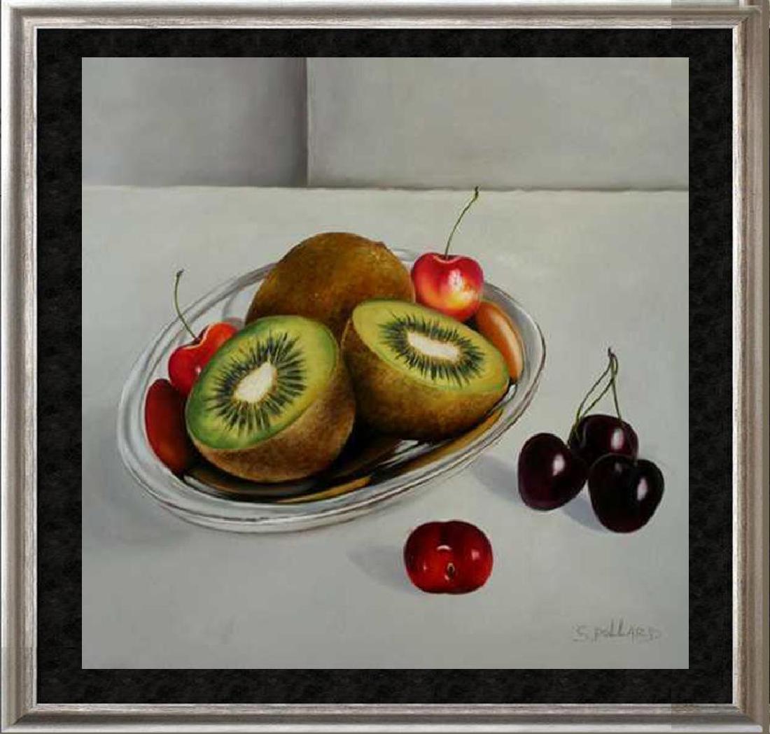 Realism Kiwi FRUIT Signed CANVAS DEALER LIQUIDATION