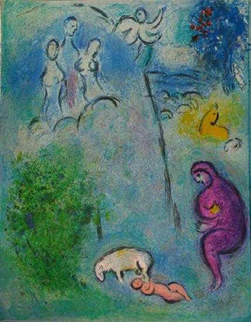 MARC CHAGALL FANTASTIC COLORED LITHOGRAPH SALE - 2