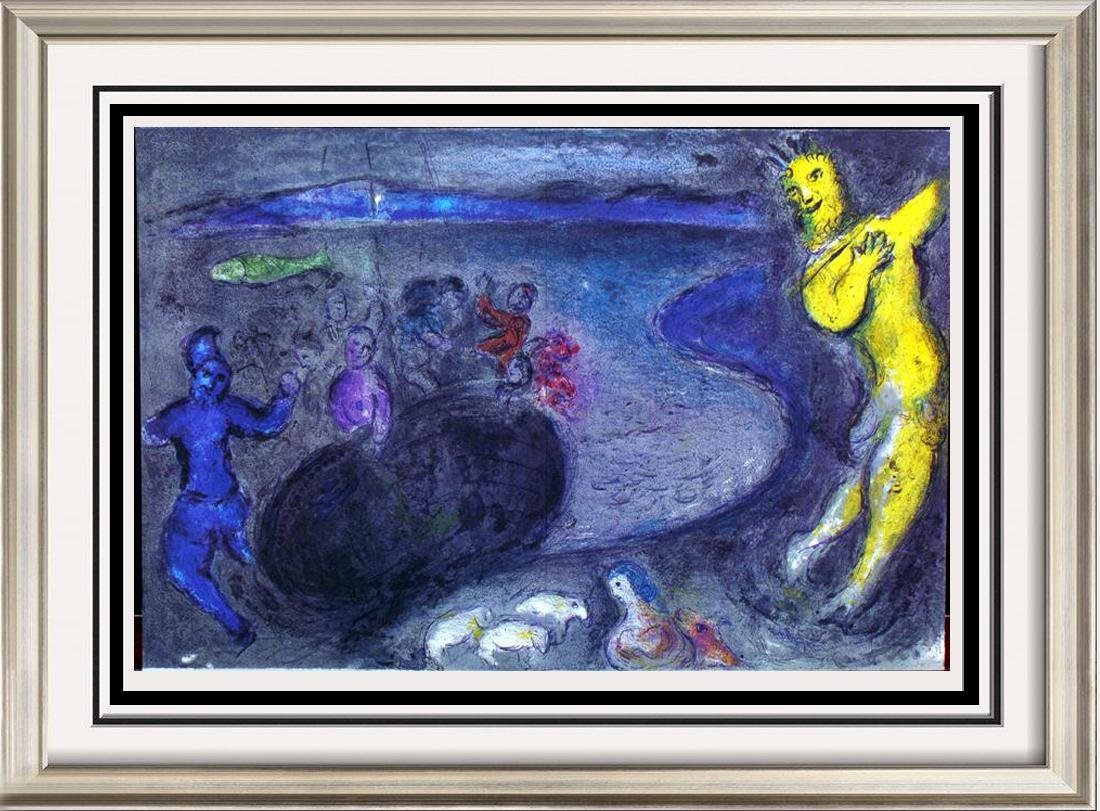 """Chagall """"After"""" Wholesale Lithograph Colorful"""
