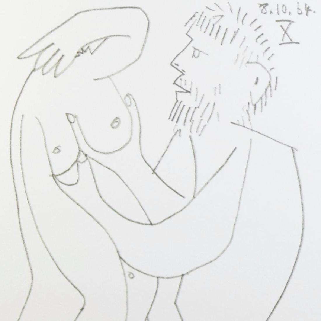 Pablo Picasso 1964 Lithograph Erotic Rare - 4