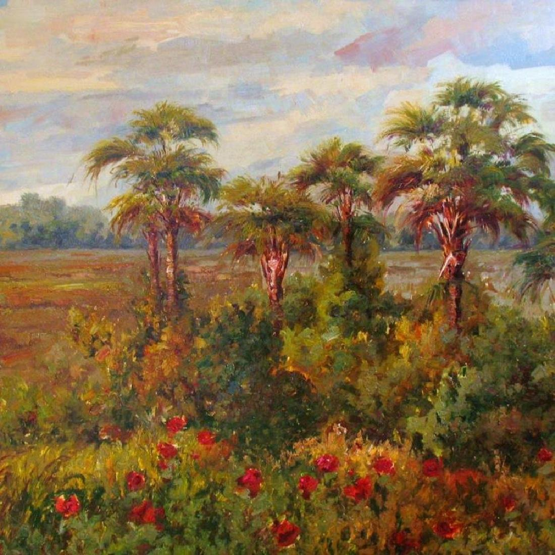 Impressionism Colorful Landscape Painting on Canvas - 3