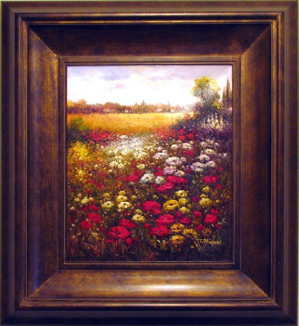 Floral FRAME Colorful Texture Flower Field Dealer