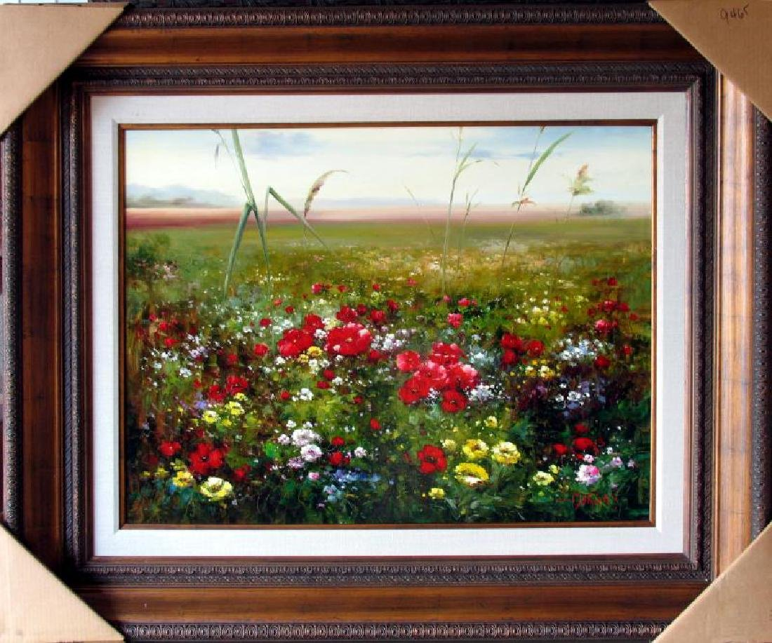 Flowers Colorful Landscape Impressionism Colorful