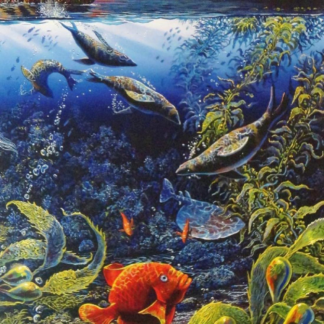 3 Pieces Underwater Nelson Lassen Style Realism Ocean - 2