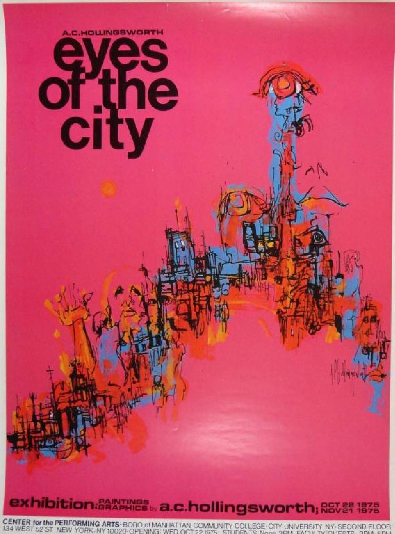 Hollingsworth Eyes of the City Art Print