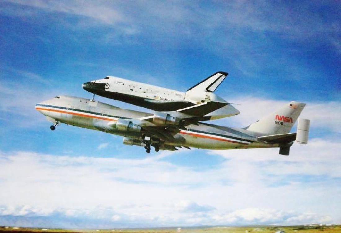 NASA 1983 Wizard & Genius Art Print Aviation