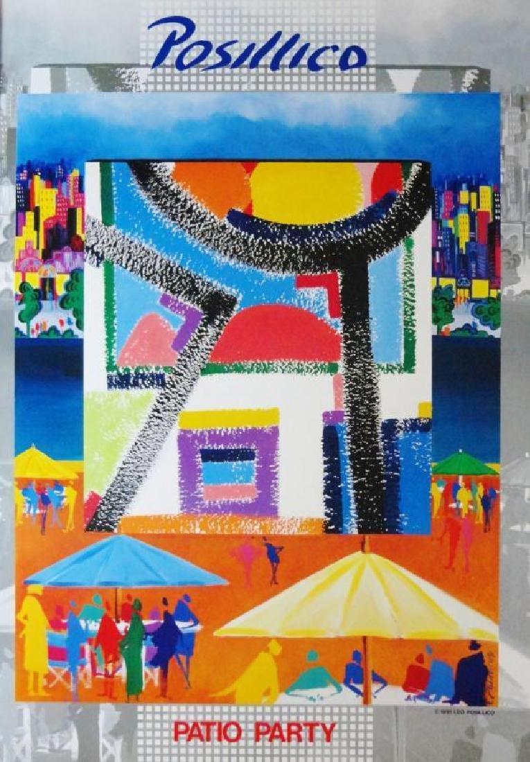 Posillico Pop Art Deco Colored Litho SALE DEALER - 2